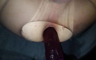 Riding my dildo