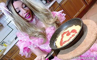 Sissy Lifestyle: Day as a Sissy Maid - Sasha de Sade & Mistress Murmur