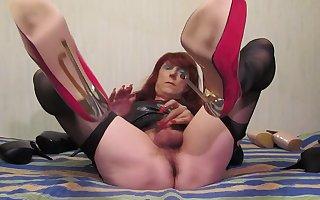 Sexy TGirl Jolanta and little dick (002)